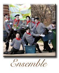 mime artist ensemble